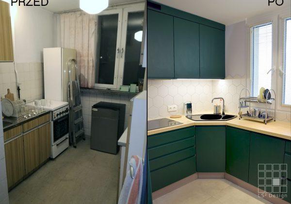 remont mieszkania - kuchnia